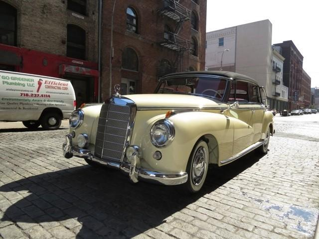 1955 mercedes benz 300 cab b for sale in new york new for Mercedes benz manhattan pre owned