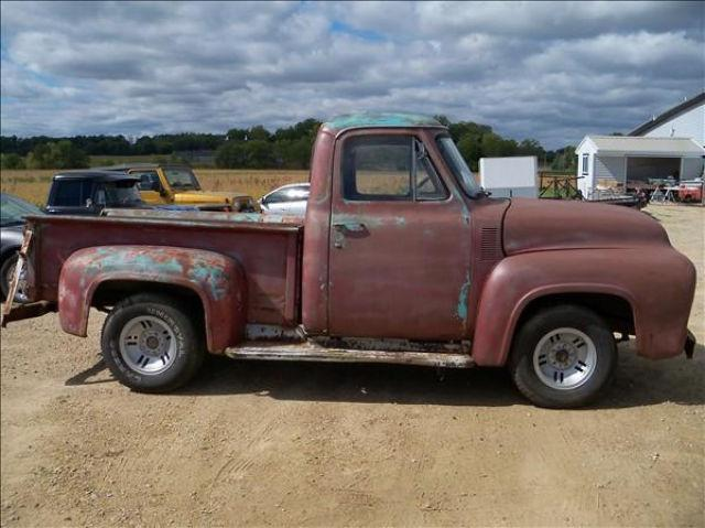 1955 Ford F100 For Sale submited images.