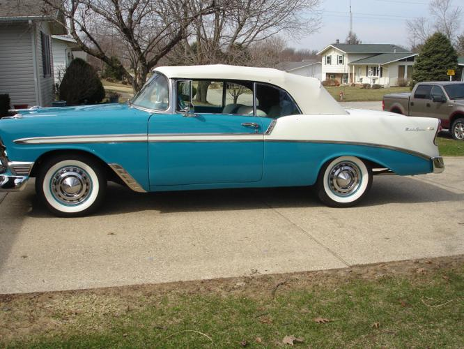1956 Chevrolet Bel-Air Convertible Complete Restoration