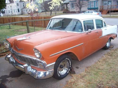 1956 chevy 210 project car trade for truck harley monte ss or for sale in superior wisconsin. Black Bedroom Furniture Sets. Home Design Ideas