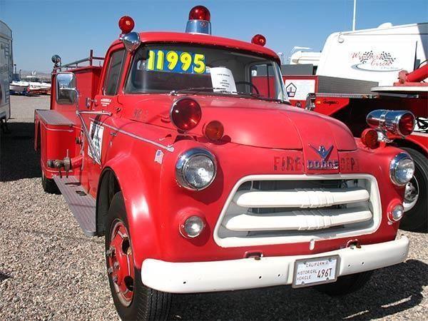 1956 Dodge Vintage Fire Truck - for Sale in Havasu City, Arizona Classified | AmericanListed.com