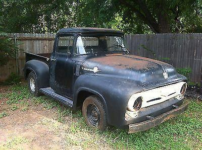 1956 Ford F 100 Pickup Truck Project Hot Rod Rat Rod For