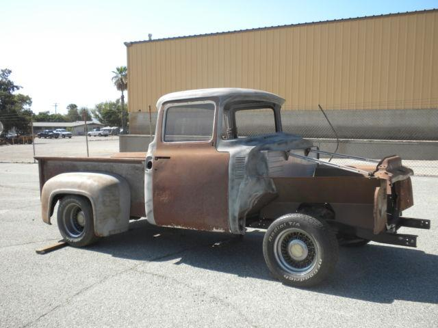 1956 ford f100 big window pick up for sale in chino for 1956 f100 big window