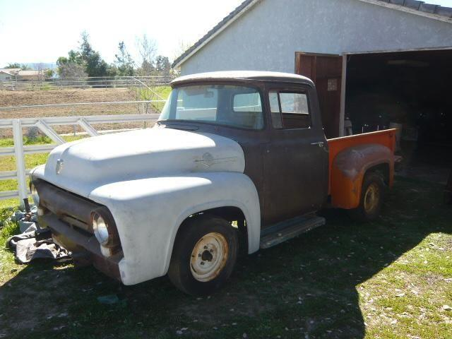 1956 ford f100 pickup project for sale in rancho california california classified. Black Bedroom Furniture Sets. Home Design Ideas