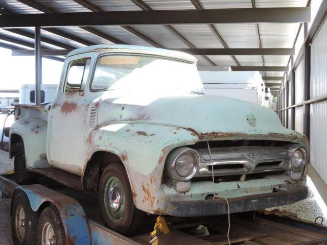 1956 Ford F100 Pickup With Factory 3 Speed O D And Tx