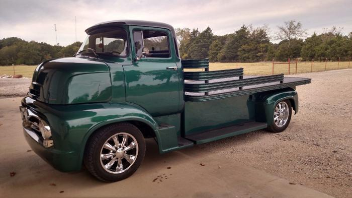 1956 Ford Other Pickups Custom Green