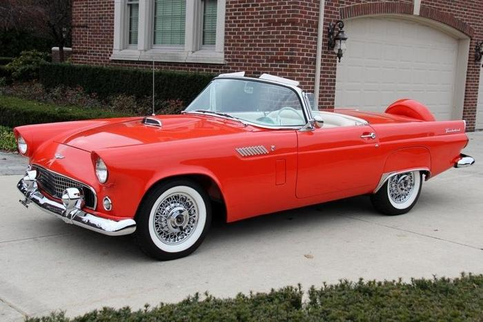 1956 ford thunderbird convertible for sale in baltimore maryland classified. Black Bedroom Furniture Sets. Home Design Ideas