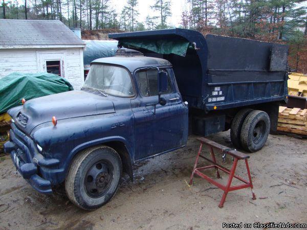 1956 gmc 300 dump truck for sale in smithfield rhode island classified. Black Bedroom Furniture Sets. Home Design Ideas