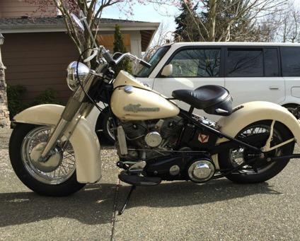 1956 Harley Davidson Flh Panhead