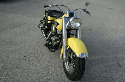 1956 Harley Davidson Panhead FL FLH Hydra Glide All Original