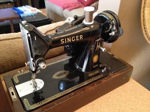 1956 singer sewing machine 99k