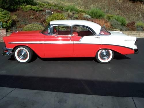 1956 chevrolet bel air 4 door sports sedan for sale in for 1956 chevy belair 4 door for sale