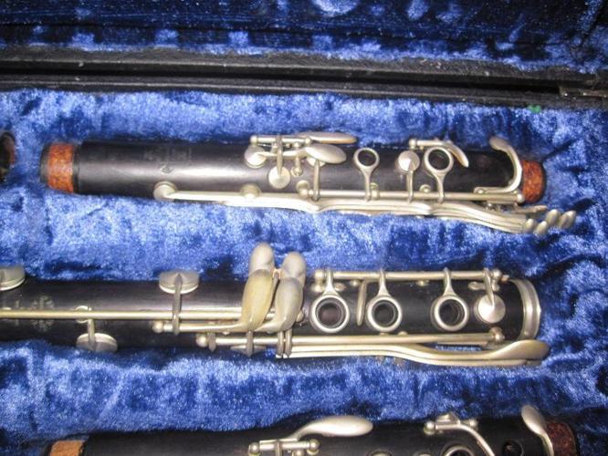 1957 Buffet Golden Era R13 Bb and A Clarinet set
