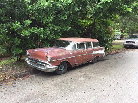 1957 chevrolet 210 4 door wagon fl for sale in miami for 1957 chevy 4 door wagon for sale