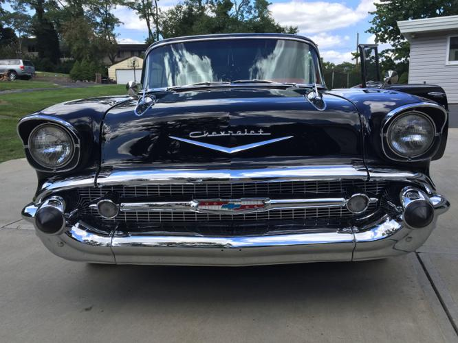 1957 Chevrolet Bel Air150210 black