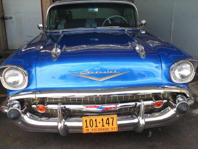1957 chevy belair 2 door hardtop for sale texas for
