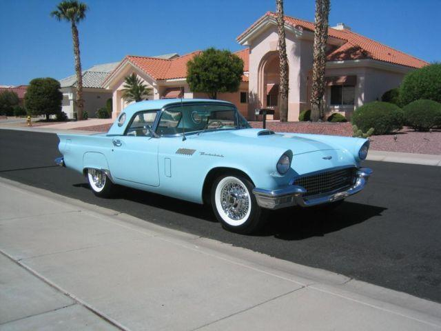 1957 ford thunderbird for sale in sun city arizona classified. Black Bedroom Furniture Sets. Home Design Ideas