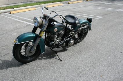 1957 Harley Davidson 57 Flh Panhead Excellent Condition