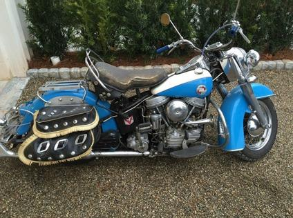 1957 Harley Davidson FLH Panhead ORIGINAL PAINT