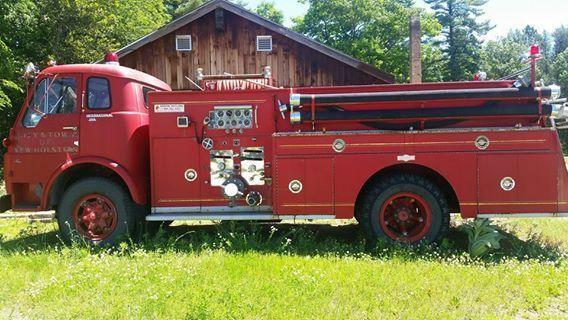 1957 International 190 Fire Truck-Pirsch Body (WI) -