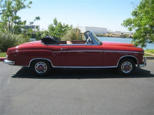 1957 mercedes benz 220 for sale in marina del rey for Mercedes benz marina del rey