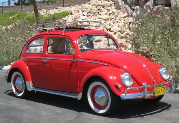 1957 volkswagen beetle ragtop for sale in las vegas. Black Bedroom Furniture Sets. Home Design Ideas