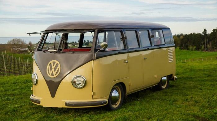 1957 Volkswagen Bus Vanagon Anthracite Grey