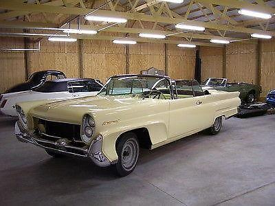 1958 58 Lincoln Continental Mark Iii Convertible Not A