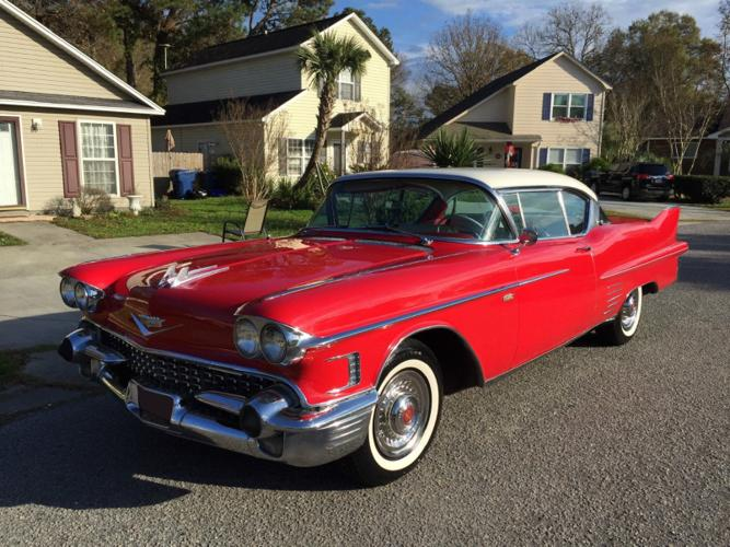 1958 Cadillac DeVille Coupe Red
