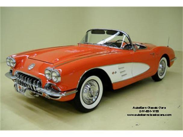 1958 chevrolet corvette for sale in concord north carolina classified. Black Bedroom Furniture Sets. Home Design Ideas