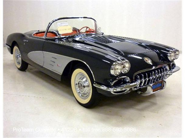 1958 chevrolet corvette for sale in napoleon ohio classified. Black Bedroom Furniture Sets. Home Design Ideas