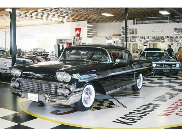 1958 Chevrolet Impala For Sale In Dublin California