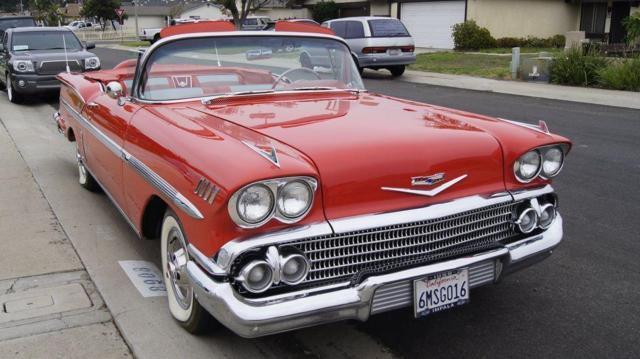 Rio Vista Chevy >> 1958 Chevrolet Impala Convertible for Sale in Chula Vista ...