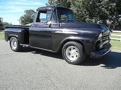 1958 Chevy Apache Pickup Sbc V8 Automatic For Sale In Lynchburg