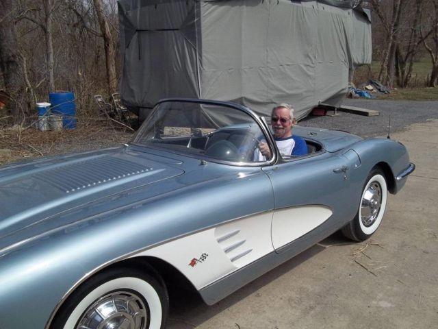 1958 chevy corvette for sale in for sale in patriot indiana classified. Black Bedroom Furniture Sets. Home Design Ideas