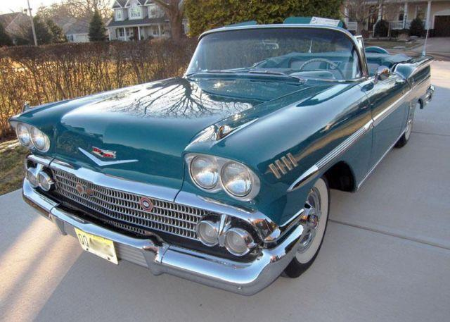 1958 chevy impala convertible senior national winner chevrolet for sale in belmar new jersey. Black Bedroom Furniture Sets. Home Design Ideas