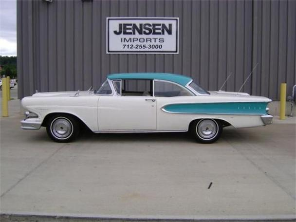 1958 edsel ranger for sale in sioux city iowa classified. Black Bedroom Furniture Sets. Home Design Ideas