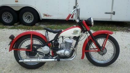 1958 Harley Davidson Hummer 165 Cc Delivery Worldwide