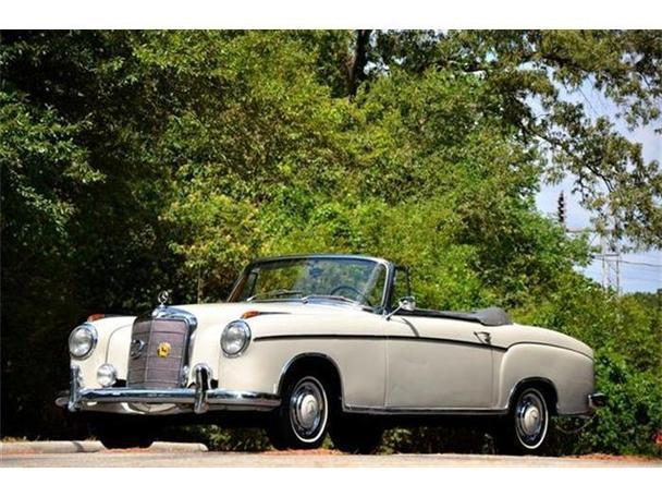1958 mercedes benz 220 for sale in houston texas for Mercedes benz for sale in houston