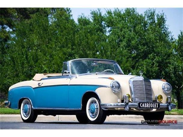 1958 mercedes benz 220 for sale in houston texas for Mercedes benz for sale in texas
