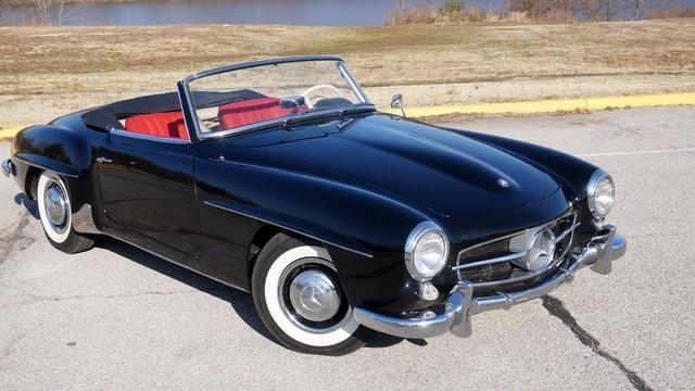 1958 mercedes benz sl190 roadster for sale in el paso texas classified. Black Bedroom Furniture Sets. Home Design Ideas