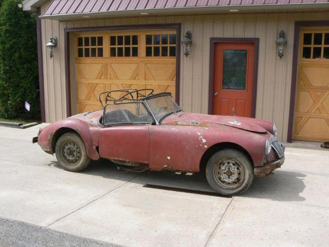 Viewing Auction #300590094892 - 1960 MGA parts car | Keith ...