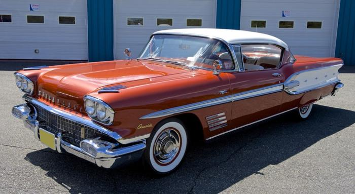 1958 Pontiac Bonneville Base 6 1l Rwd For Sale In