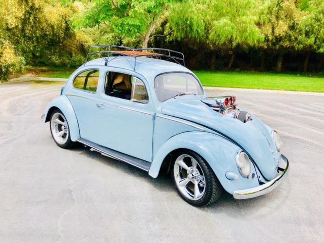 1958 Volkswagen Beetle Bug Classic Drag Beatle with 581HP