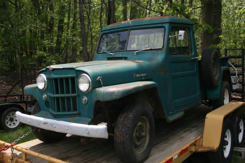 1958 willys pickup for sale in lynchburg virginia classified. Black Bedroom Furniture Sets. Home Design Ideas
