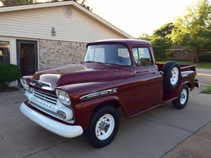 1959 Chevrolet Apache 3600 Stepside For Sale In Graham Texas