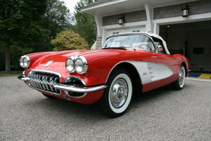 1959 Chevrolet C1 Corvette Convertible