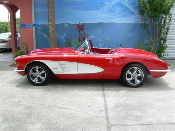 1959 chevrolet corvette for sale in clearwater florida classified. Cars Review. Best American Auto & Cars Review