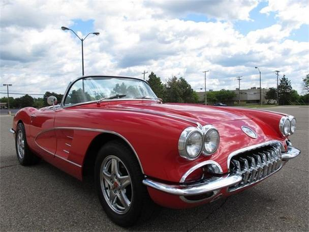 1959 chevrolet corvette for sale in troy michigan classified. Black Bedroom Furniture Sets. Home Design Ideas