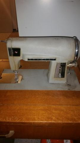 1959 Electric Kenmore Sewing Machine - In cabinet